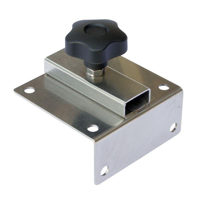 Stucki Thun Fixierplatte abgewinkelt 90 mm x 90 mm x 30 mm
