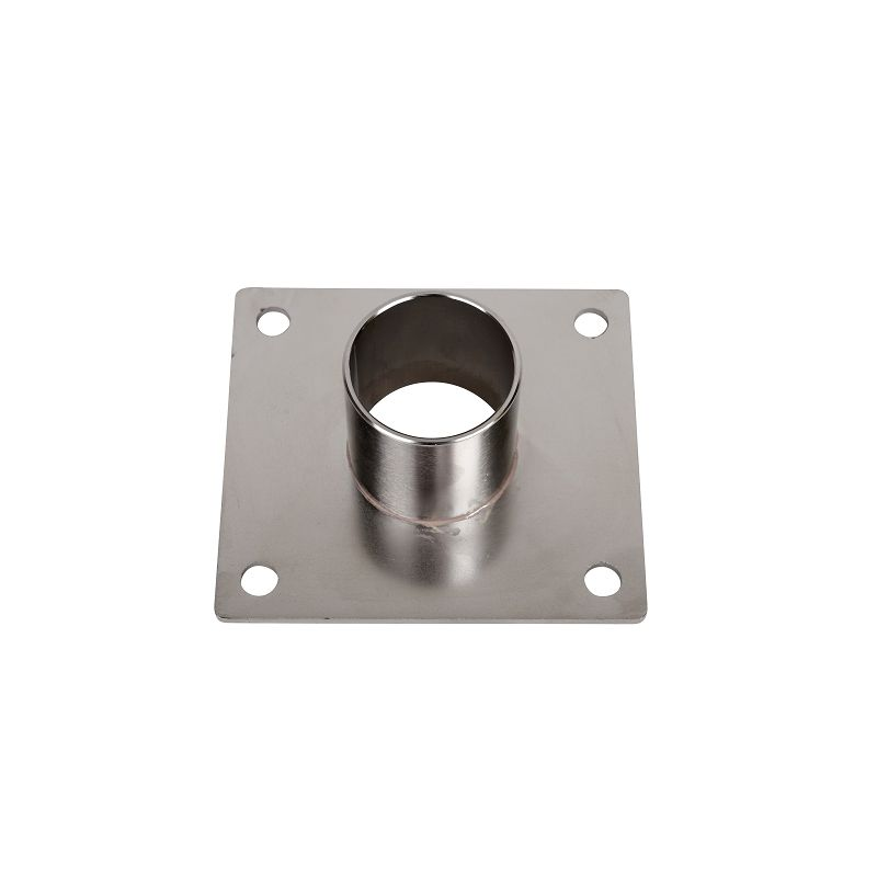 Stucki Thun Mastenhalterung für Einlass im Bootsboden 90 mm x 100 mm