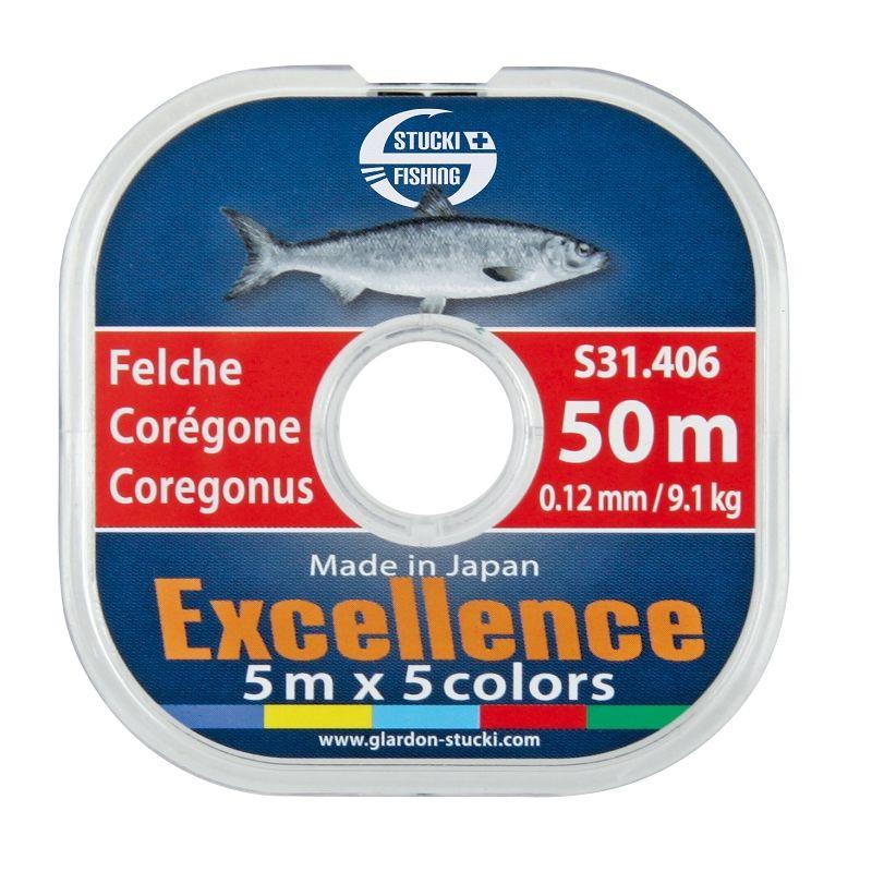 Stucki Fishing Felchenschnur Coregone 50 m