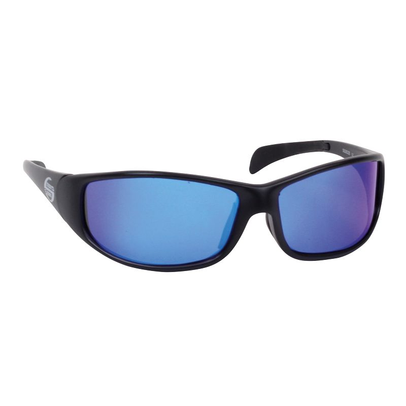 Polarisationsbrille mit blauem Glas