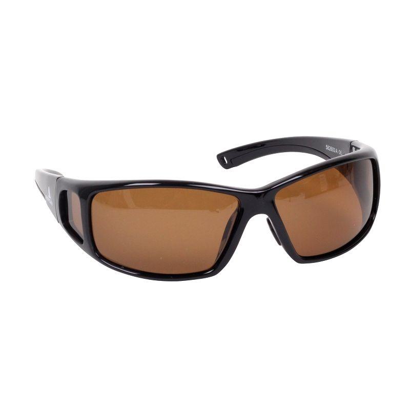 Polarisationsbrille mit braunem Glas