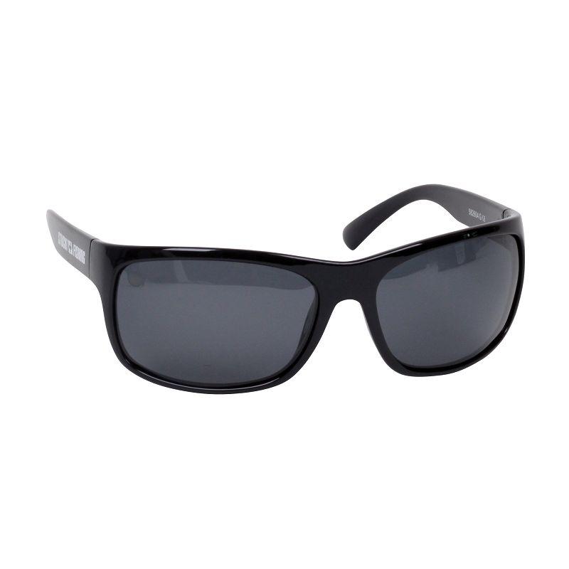Polarisationsbrille mit grauem Glas.