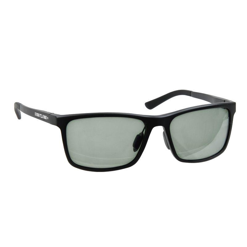 Polarisationsbrille mit grauem Glas. Photochrome Gläser.