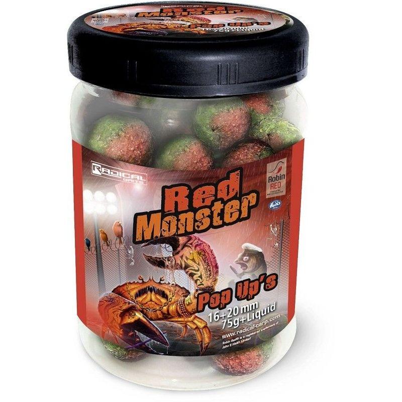 Radical Red Monster Pop Ups (Boilie)
