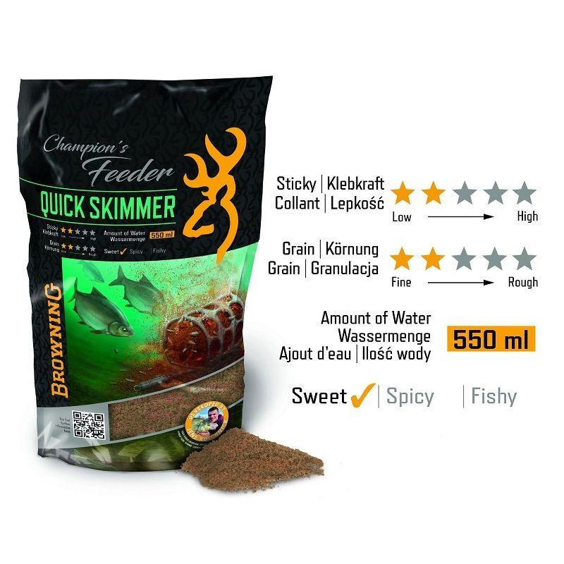 Browning Champion's Feeder Mix Quick Skimmer (Grundfutter)