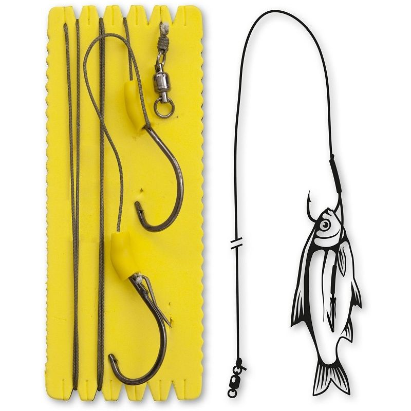 Black Cat Bouy and Boat Ghost Single Hook Rig