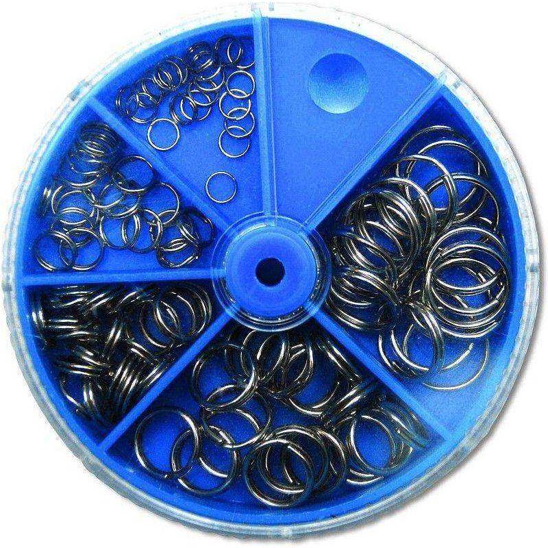 Zebco Split Ring Sortiment (Wirbel)
