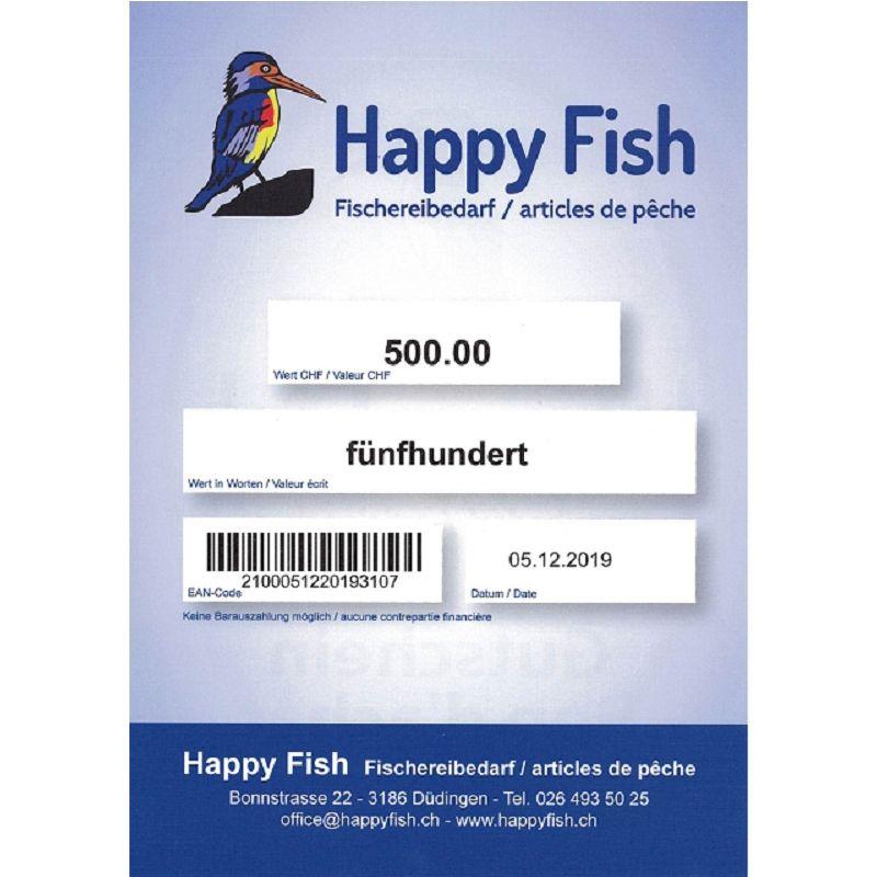 Gutschein Happy-Fish 500.-