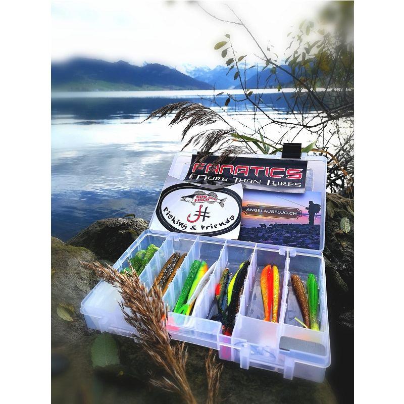 Engros Fishing & Friends Gummiköder-Box