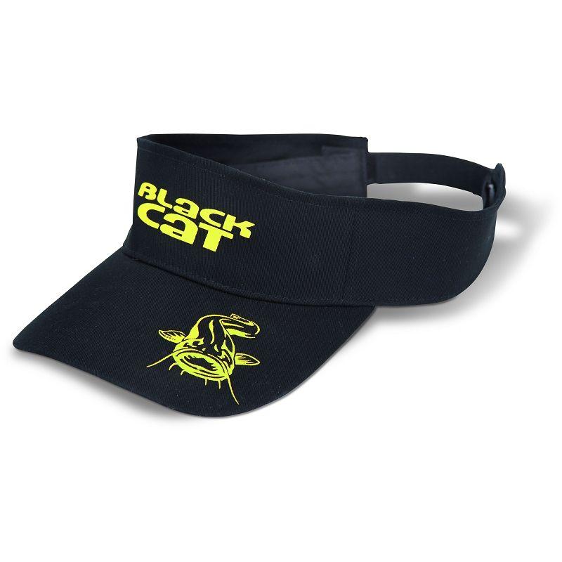 Black Cat Visor schwarz/gelb (Bekleidung)