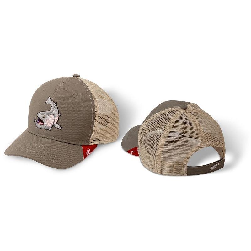Magic Trout Trout Trucker Cap stretch grau/braun (Bekleidung)