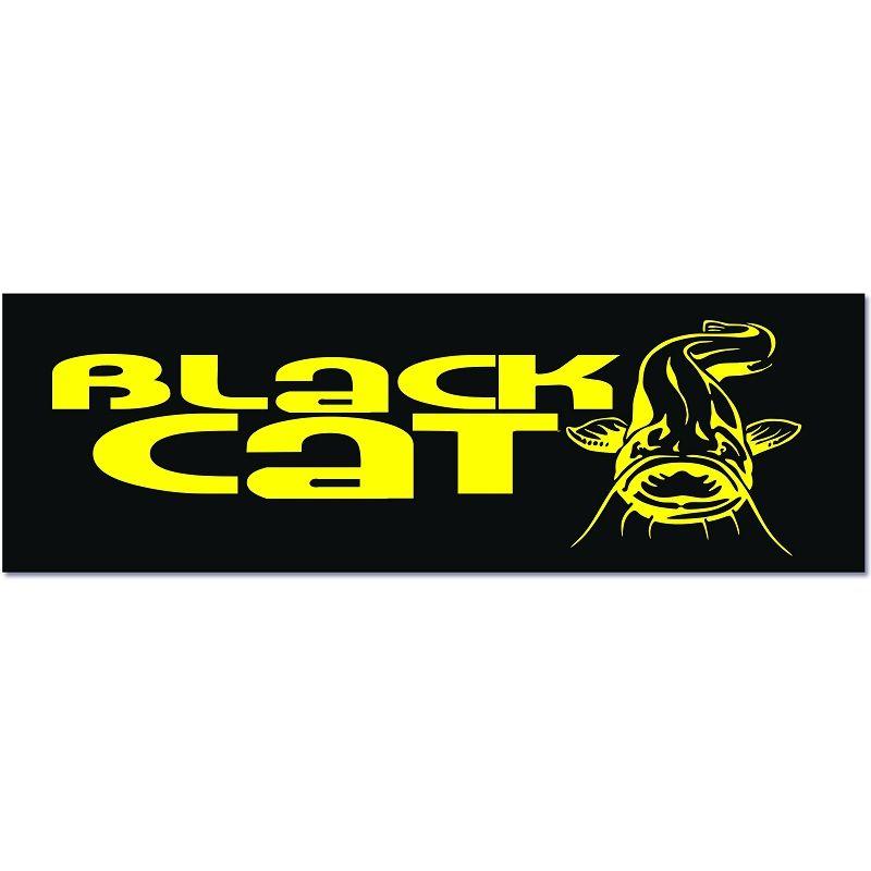 Black Cat Aufkleber